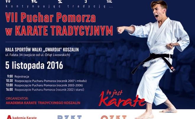 VII Puchar Pomorza w Karate Tradycyjnym